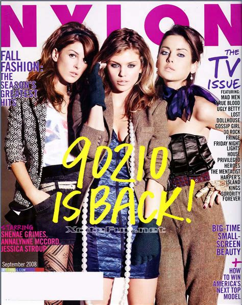 Rich Are Back Cw Plots 90210 Spinoff by Beverly 90210 2008 Hit The Magaznie Sep