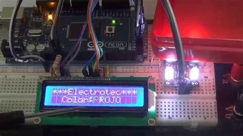 Lcd Ad Max U uso sensor de color tcs230 con un lcd