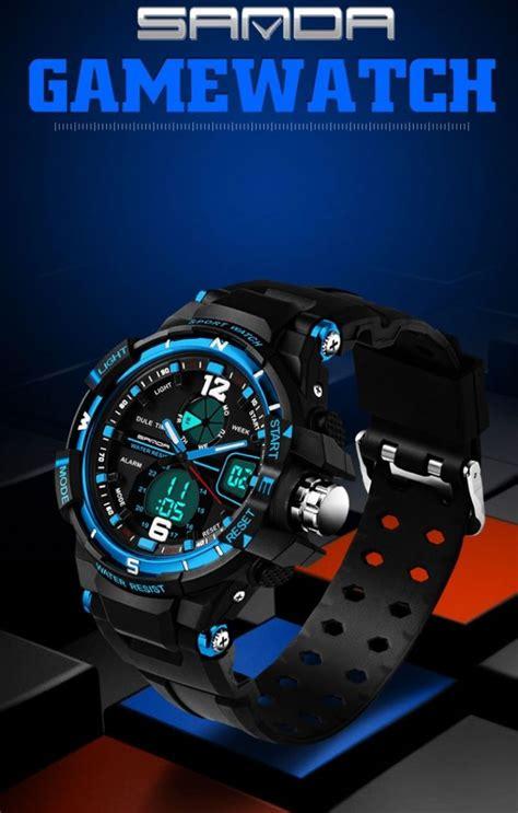 Sanda Jam Tangan Analog Digital Sd 289 sanda jam tangan sporty pria sd 289 black jakartanotebook