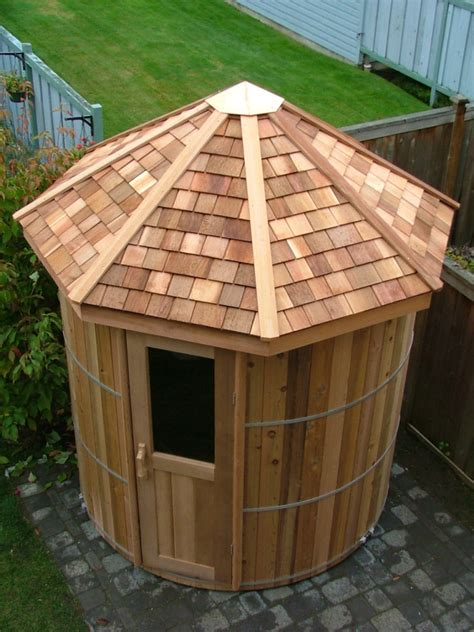Outdoor Steam Room Kits - cedar barrel sauna kits and wood barrel saunas forest lumber amp cooperage