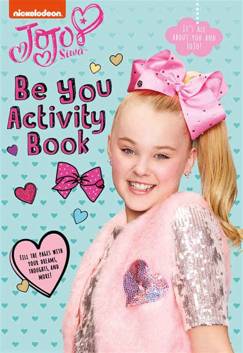 be you activity book by jojo siwa paperback