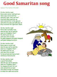 dltk bible stories samaritan song