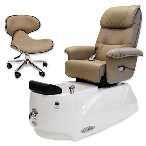 Pipeless Pedicure Chair by Cleo Day Spa Pedicure Chair Unit