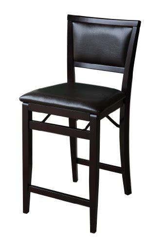 24 folding stool canada linon home decor keira pad back folding counter stool 24