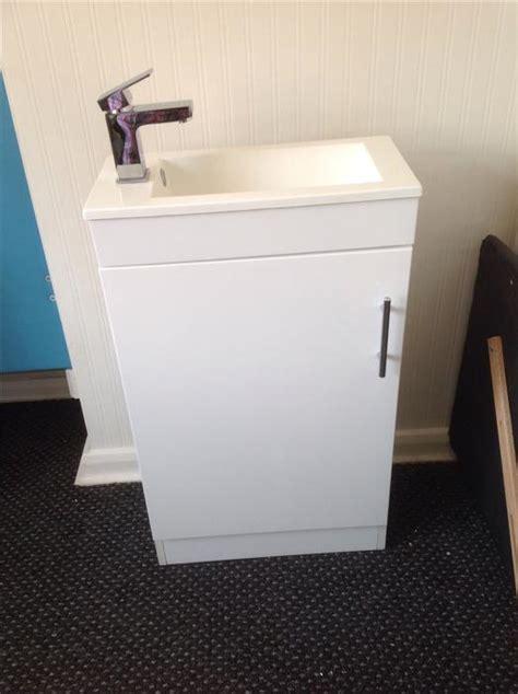 Slim Vanity Sink ovno modern slim vanity unit sink taps only fitted in 2 days bilston wolverhton