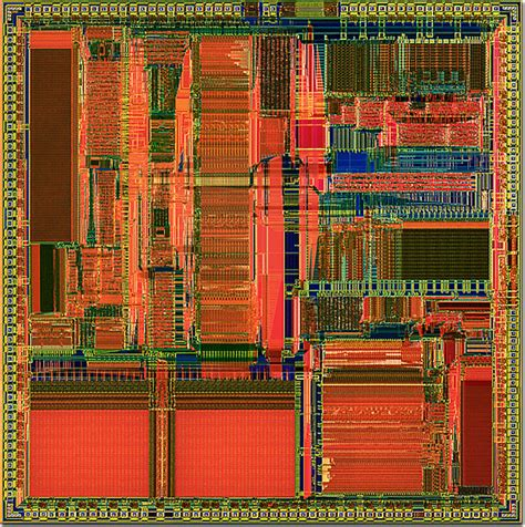 integrated circuit and microprocessor molecular expressions chip cyrix integrated circuits 486dx2 microprocessor