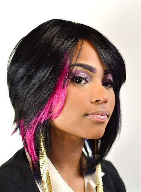 black hair weaves 15 chic short bob hairstyles black women haircut designs