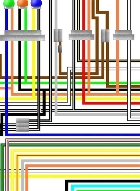 suzuki ts er   uk spec colour wiring harness diagram
