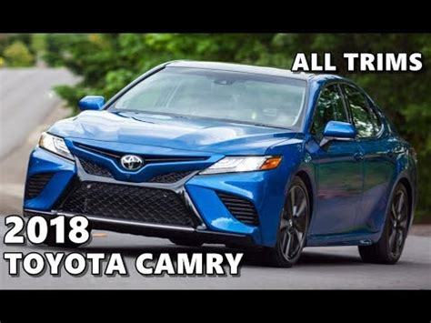 2018 toyota camry (all new) exterior, interior, driving