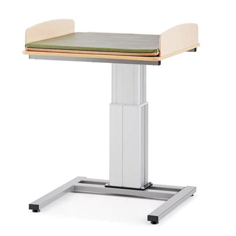 Height Adjustable Baby Changing Table Elin Without Sink Height Changing Table