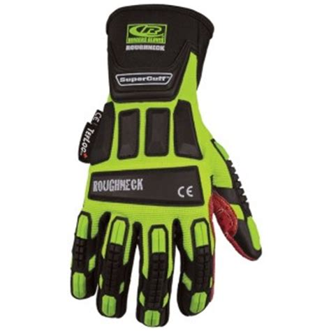 Sarung Tangan Roughneck Roughneck Tefloc Supercuff Ringers Gloves Impact Mechanical Www Esemessafety