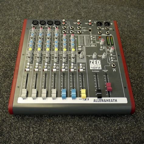 Mixer Allen Heath Second allen and heath zed60 10fx mixer 2nd rich tone