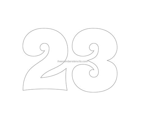 Number Stencil Templates Free by Groovy Number Stencils Archives Freenumberstencils