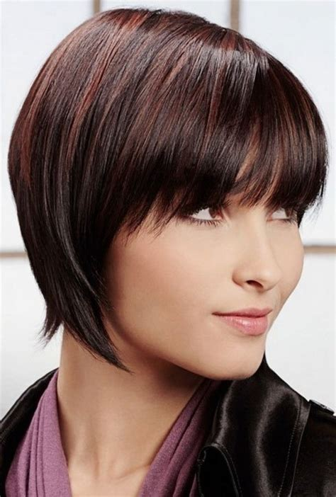 short layered hair style for full face short hair styles for fat faces