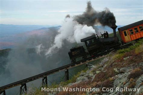 photo gallery  mount washington  railway