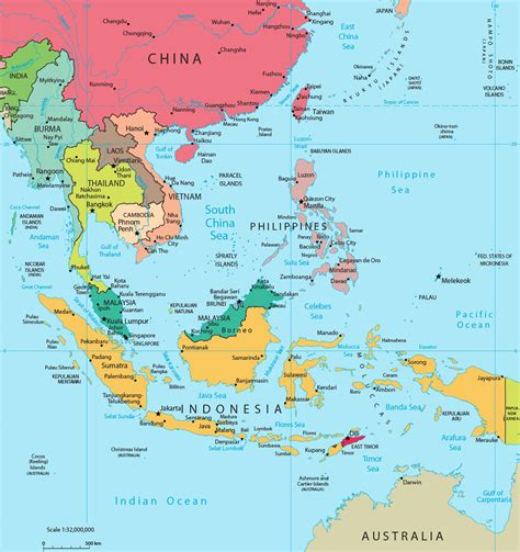 southeast asia map my musing scorpene again and again and again like a