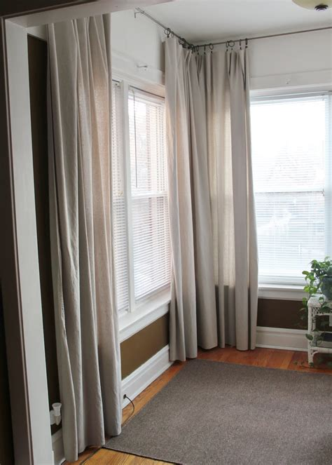 dropcloth curtains mr and mrs pear drop cloth curtains