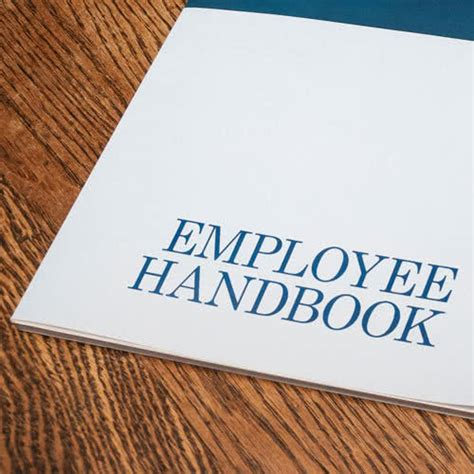 employee handbook cover design template creating a restaurant employee handbook