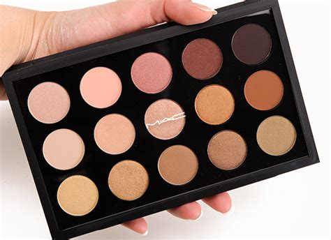 Eyeshadow X15 Warm Neutral Mac mac eyeshadow x 15 warm neutral palette review photos