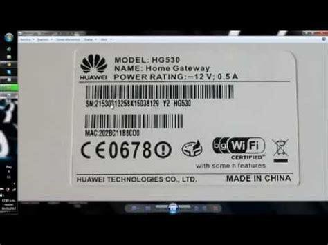 abrir puertos modem huawei hg530 telefonica | how to make