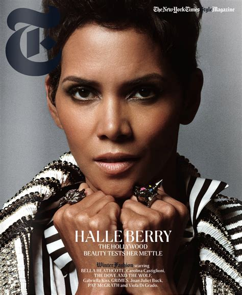Style In The Ny Times by My Black Ads Halle Berry Covers New York Times Magazine