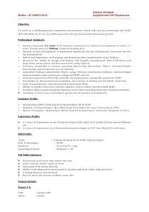 18 sle resume for c net developer make resumes for free software developer resume skills