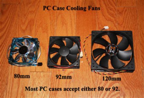 Pc Byo Diy Improved Cooling Tips Pc Fans