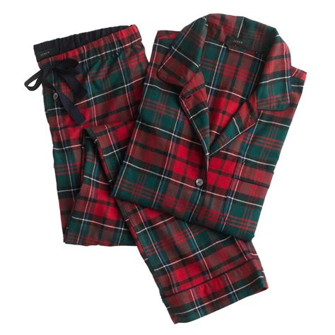 plaid pajamas plaid pajama ser j crew gifts the holidays jcrew pajamas and
