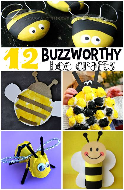Fun Arts And Crafts Ideas For Kids - buzzworthy bee crafts for kids to make crafty morning