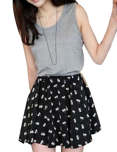 Dress Korean Style Sleeveless Chiffon Dress aliexpress buy fashion korean sweet summer sleeveless chiffon casual waist dress