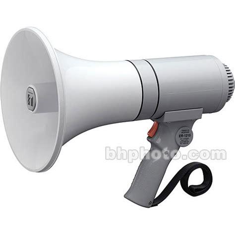 Handgrip Megaphone toa electronics er 1215 23 watt grip megaphone er 1215