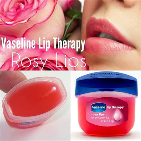 Mini Vaseline Rosy Lip Therapy For Soft Pink 7 Gram Sa28 M vaseline lip therapy rosy atasi bibir kering