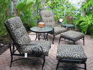 martha stewart patio furniture replacement cushions martha stewart everyday and amelia island