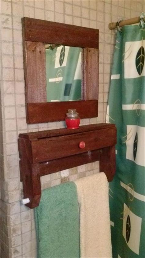 pallet ideas for the bathroom pallets designs