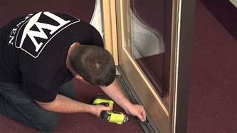 How To Remove Sliding Patio Door Panel How To Remove And Reinstall A Stationary Panel In A Sliding Wood Patio Door