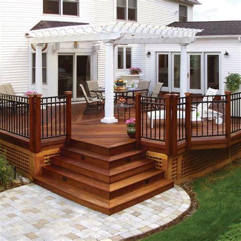 expert wood deck design  construction archadeck