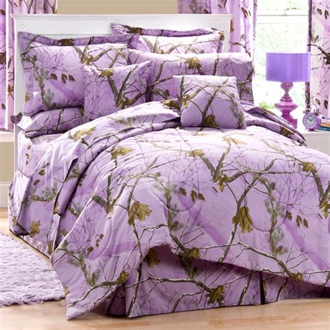 purple camo bedding ap lavender camo twin comforter set free shipping