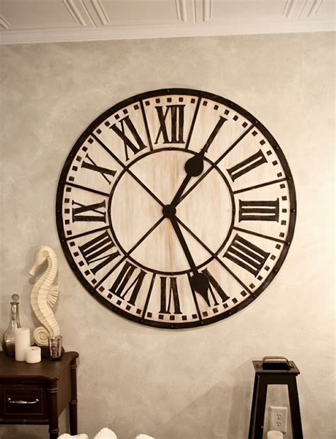 Wall Mural Bedroom 45 id 233 es pour le plus cool horloge g 233 ante murale