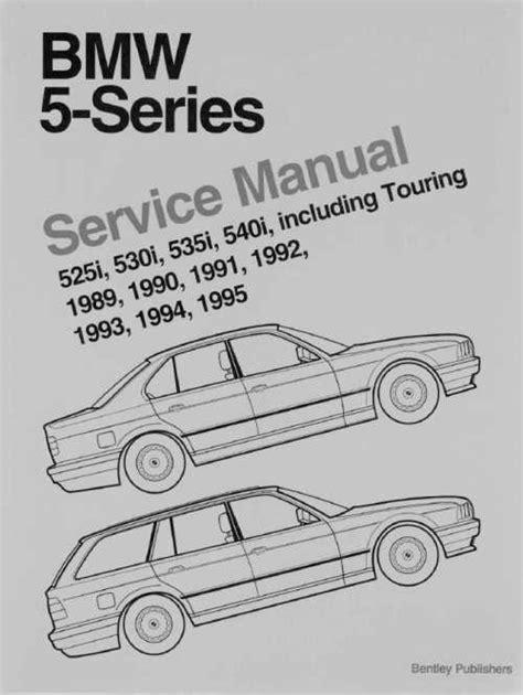 Инструкция по эксплуатации и руководство по ремонту BMW 5