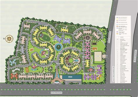 Commercial Complex Floor Plan Supertech Eco Village 2 Supertech Eco Village Ii Site Plan
