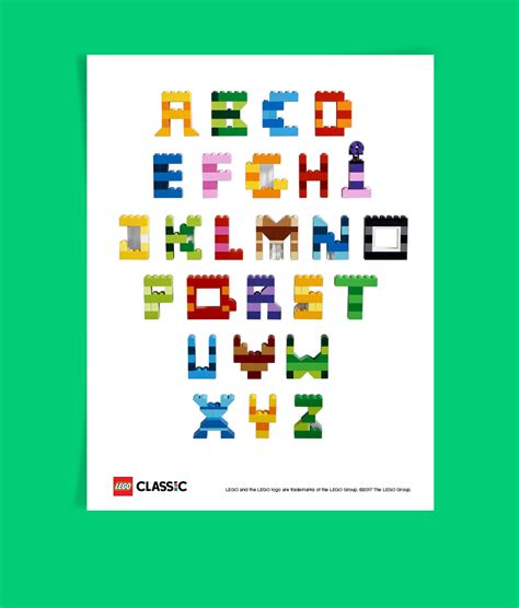 Lego Alphabet Abc Mainan Anak lego letters alphabet docoments ojazlink