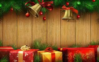 the festive christmas gifts photography wallpaper 2