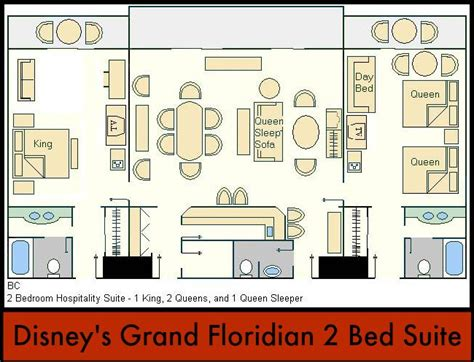 disney world floor plans disney s grand floridian offers nice accommodations but