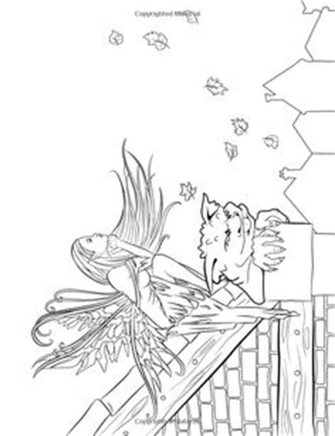 fairy companions coloring book 0994355440 magical minis pocket sized fairy fantasy art coloring book fantasy art coloring by selina