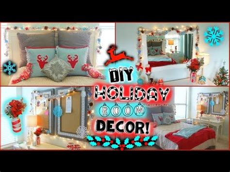 diy holiday winter room decor easy ways to decorate