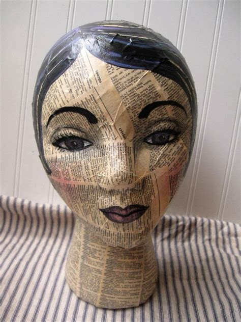 How To Make Paper Mache Heads - 25 best ideas about styrofoam on diy