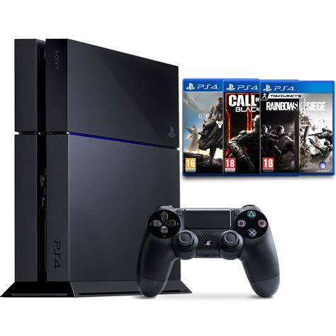 sony console ps4 500 go sony playstation 4 500 go fps pack console ps4 sony