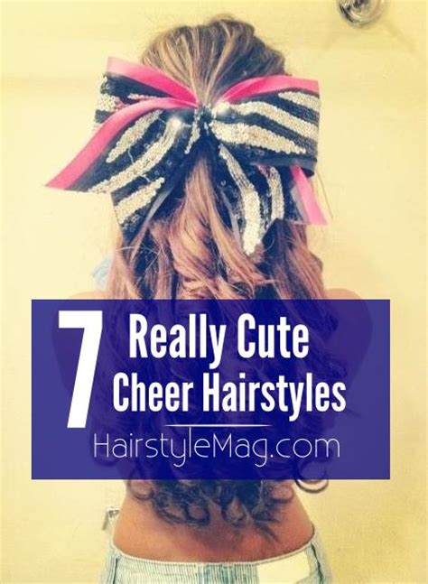 haircut competition games 7 really cute cheerleader hairstyle ideas for your next