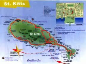 St kitts map