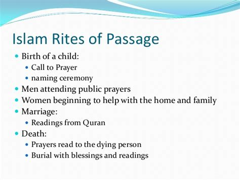 The Rites Of Passage english 9 rites of passage